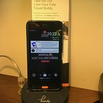 Complimentary Phone/Tablet in the room
