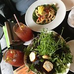 Calamari, Harvest Salad