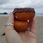 donuts on the beach