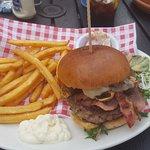 Swiss burger yummy