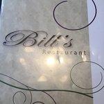 Foto de Bill's Restaurant
