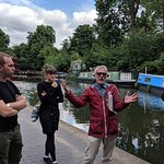 Mike at the canals (plus his creepers matched his jacket perfectly!)