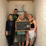 Super excited that team 'Ellie + the Inglis' escaped on the Silver level today!