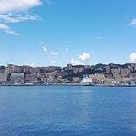 Panorama della città dal Porto Antico