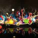 Art work in Chihuly Garden and Glass