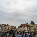 Beautiful architecture at the old town Prague