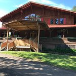 Front of our Main Lodge.