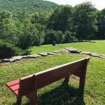 Have a seat and enjoy the grounds and fresh mountain air!