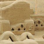 La ciudad en barro mas grande del mundo, espectacular los detalles de sus muros.