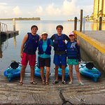 Paddle Marco kayak rentals out of Caxambas!