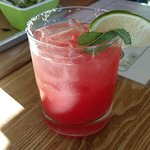 Agua Fresca Margarita at Happy Hour
