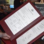 Th unique illuminated menu