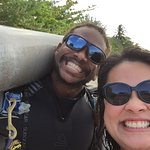 Post-dive w/ Robert, the awesome dive master