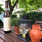 Historische Weinwirtschaft ภาพถ่าย