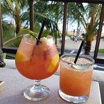 Lychee Sangria and Guava Alo Rita
