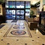 Warm & Inviting lobby.