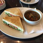 BLT w/ Beef Vegetable Soup