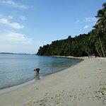 White Beach, Island