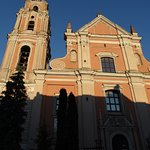 A beautiful baroque church: unfortunately closed at the time I viisted the place