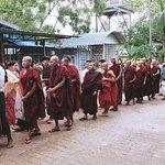 Ceremony/ Parade near Thabarwa Meditation Center