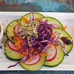 Salat und Aufstrich