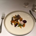 Rabbit, Samosa, Heritage Carrots and Tarragon