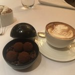 Coffee and Salted Caramel Truffles