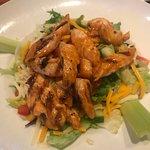 Zingers salad with Grilled Zingers