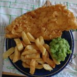 Beach road fish chips and peas