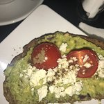 I loved my avocado toast and cappuccino but the waffle was a bit too hard. The place was very cl