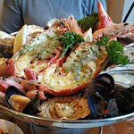 Grilled Lobster platter