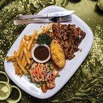 Grande's special Chicken Chop
