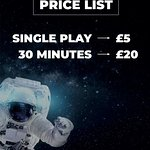 Current Pricing for ImmotionVR Manchester