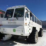 Your ride to the icefield