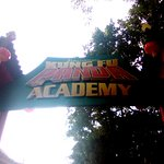 Kung Fu Panda Academy area - entrance