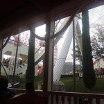 Oblivion - vista da veranda pizzeria Saloon