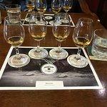 Tasting four of their premium whiskies!