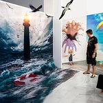 The largest in Europe exhibition of paintings 3D illusion!
