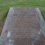 gravsten for maleren Jens Hansen-Årslev