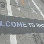 Road sign on Brookyn end