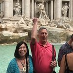 All good wishes at Trevi Fountain