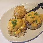 Bang Bang Shrimp Eggs Benedict
