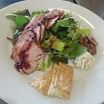 Our dish for the Excelsior Springs Trolley Tour! Peppered Pork Antipasto!
