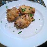Patatiscas de Bacalhau e Polvo