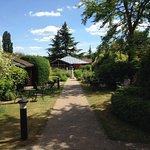 View along gardens