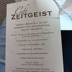 Foto van Café Zeitgeist
