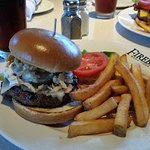 Durango Burger with Steak Fries.