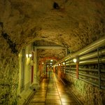 Inside the bunker itself
