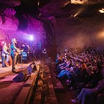 Bluegrass Underground, a new Live Music Venue in a Cave near the Smoke House, Monteagle, TN