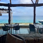 View from resort restaurant